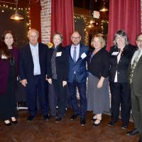 CVF Board 25th anniversary party
