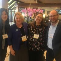 UC Irvine Law School's Intellectual Property, Arts, and Technology Clinic team at FOCE 2019