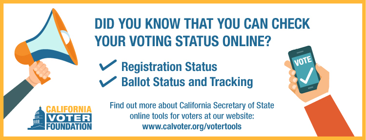 Online Voter Tools - Check Your Status